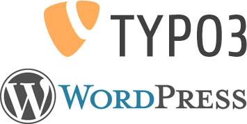 Content Management Systeme WordPress und Typo3